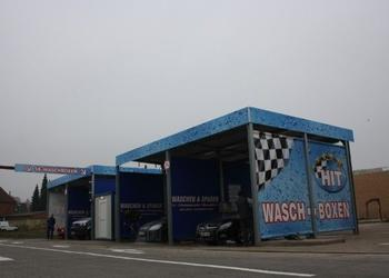 Hit-Autowaschcenter - Waschboxen